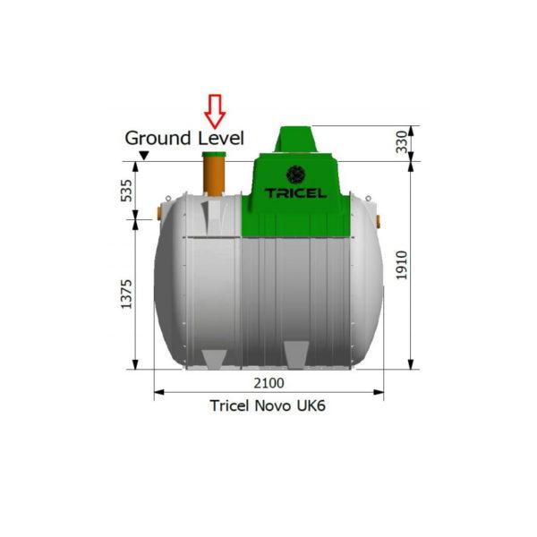 Tricel Novo 6PE Sewage Treatment Plant